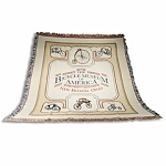 Southern Charm Tapestry Throw