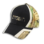Realtree Hardwoods/Black Camo Cap/Hat
