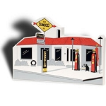 Sunoco Station Cutout