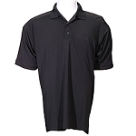 Coolmax Textured Solid Polo