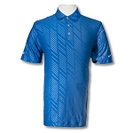 Embossed Polo-Blue