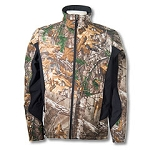 Colorblock Soft Shell-Camo Jacket