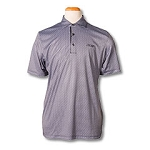 Greg Norman - Micro Print Polo-Black