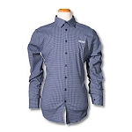 DJ Plaid Shirt-Navy
