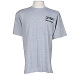 Gildan Grey Pocket T-Shirt