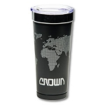 Polar Tumbler w/World Map