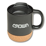 14oz Cork Base Ceramic Mug