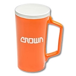Orange Ceramic Mug 18oz