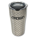 20oz Diamond Plate Tumbler