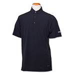 Greg Norman Printed X-lite Polo-Black