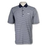 Greg Norman Bar Stripe Polo-Navy