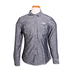 Port Authority Ladies Chambray Shirt-Grey