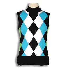 Diamond Argyle Vest