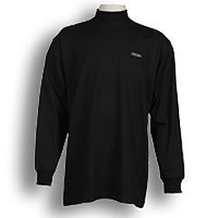 Ahead Jersey Mock Turtleneck