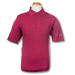 JN Solid Knit Polo-Magenta