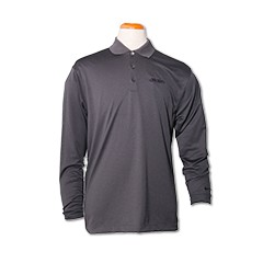 Nike L/S Dri-Fit Tech Polo-Gray