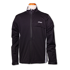 Greg Norman L/S Full Zip Jkt-Blk