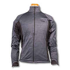 Ladies Elevate Langley Jkt-Heather/Black